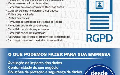 Promoção: Proteção Dados e RGPD