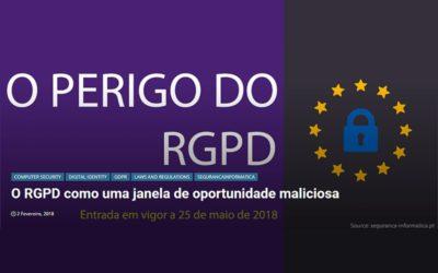 O RGPD como uma janela de oportunidade maliciosa