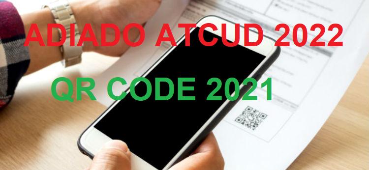 ATCUD 2022 QRCOD 2021